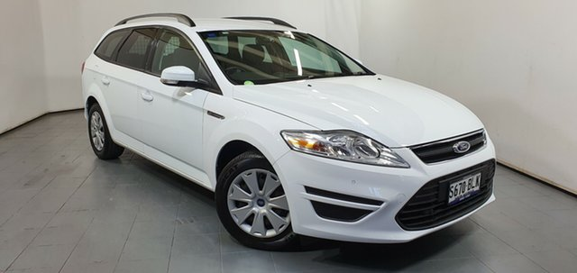 Used Ford Mondeo MC LX, 2012 Ford Mondeo MC LX White 6 Speed Sports Automatic Wagon
