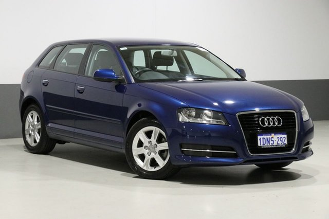Used Audi A3 8P MY11 Sportback 1.4 TFSI Attraction, 2011 Audi A3 8P MY11 Sportback 1.4 TFSI Attraction Blue 7 Speed Auto Direct Shift Hatchback