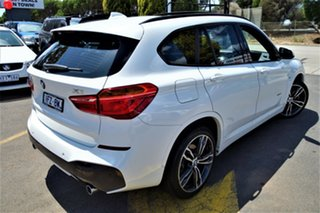 2016 BMW X1 F48 xDrive25i Steptronic AWD White 8 Speed Sports Automatic Wagon.