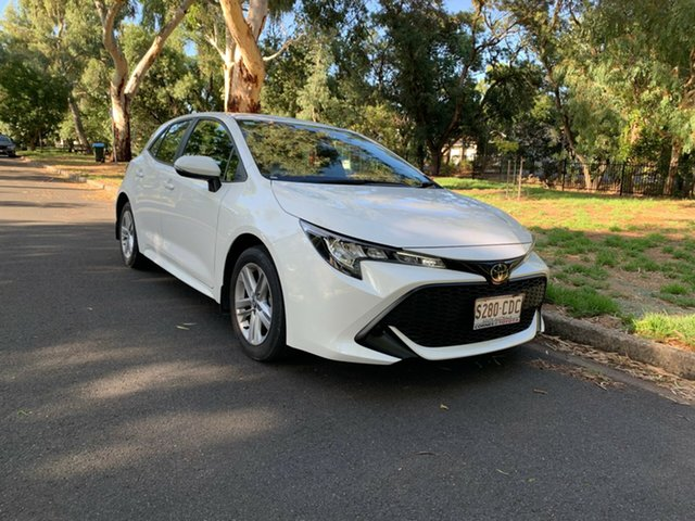 Demo Toyota Corolla Mzea12R Ascent Sport, 2019 Toyota Corolla Mzea12R Ascent Sport White 10 Speed Constant Variable Hatchback