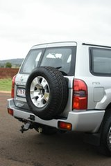 2008 Nissan Patrol GU VI ST (4x4) Silver 4 Speed Automatic Wagon