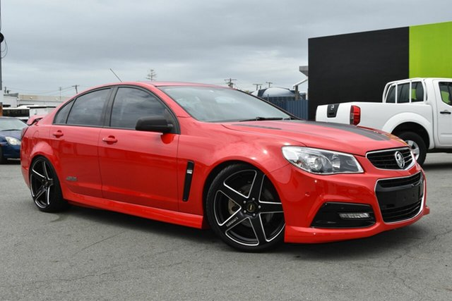 Used Holden Commodore VF MY15 SS, 2015 Holden Commodore VF MY15 SS Red 6 Speed Manual Sedan