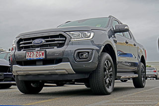 2019 Ford Ranger PX MkIII 2019.75MY Wildtrak Pick-up Double Cab Grey 6 Speed Sports Automatic