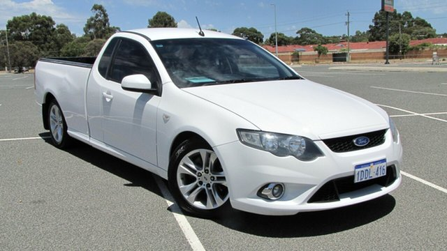 Used Ford Falcon FG XR6 Ute Super Cab, 2009 Ford Falcon FG XR6 Ute Super Cab White 5 Speed Sports Automatic Utility