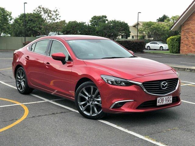 Used Mazda 6 GJ1032 GT SKYACTIV-Drive, 2014 Mazda 6 GJ1032 GT SKYACTIV-Drive Red 6 Speed Sports Automatic Sedan