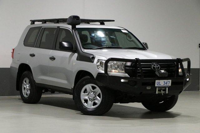 Used Toyota Landcruiser VDJ200R MY16 GX (4x4), 2016 Toyota Landcruiser VDJ200R MY16 GX (4x4) Silver 6 Speed Automatic Wagon