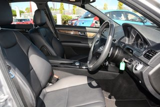 2010 Mercedes-Benz C-Class W204 MY10 C220 CDI Avantgarde Billet Silver 5 Speed Automatic Sedan