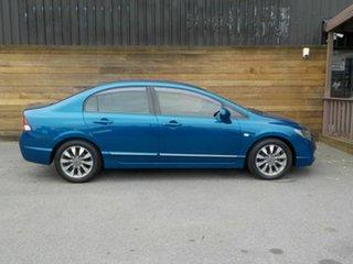 2010 Honda Civic 8th Gen MY10 VTi-L Blue 5 Speed Automatic Sedan.
