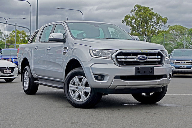 Used Ford Ranger PX MkIII 2019.00MY XLT Pick-up Double Cab 4x2 Hi-Rider, 2018 Ford Ranger PX MkIII 2019.00MY XLT Pick-up Double Cab 4x2 Hi-Rider Silver 6 Speed