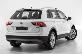 2019 Volkswagen Tiguan 5N MY19.5 132TSI DSG 4MOTION Comfortline White 7 Speed.