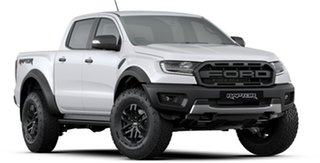 2019 Ford Ranger PX MkIII 2019.75MY Raptor Pick-up Double Cab Arctic White 10 Speed Sports Automatic
