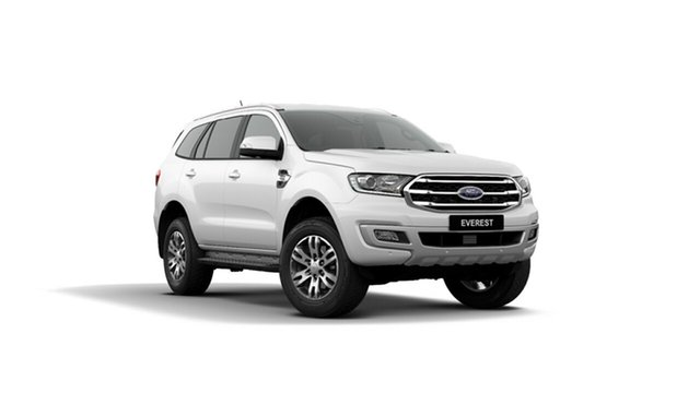 New Ford Everest UA II 2019.75MY Trend 4WD, 2019 Ford Everest UA II 2019.75MY Trend 4WD Arctic White 10 Speed Sports Automatic Wagon