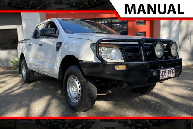 Used Ford Ranger PX XL Double Cab, 2012 Ford Ranger PX XL Double Cab White 6 Speed Manual Utility