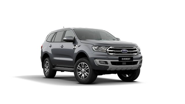 New Ford Everest UA II 2019.75MY Trend 4WD, 2019 Ford Everest UA II 2019.75MY Trend 4WD Meteor Grey 10 Speed Sports Automatic Wagon