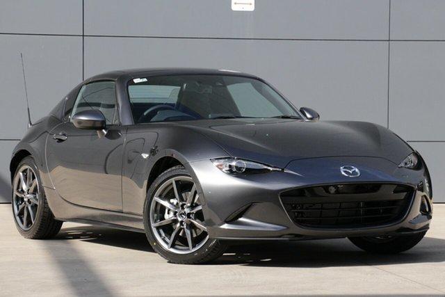 New Mazda MX-5 ND GT RF SKYACTIV-MT, 2019 Mazda MX-5 ND GT RF SKYACTIV-MT Machine Grey 6 Speed Manual Targa