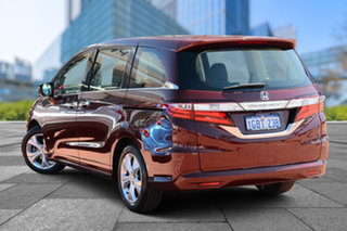 2016 Honda Odyssey RC MY16 VTi Red 7 Speed Constant Variable Wagon.