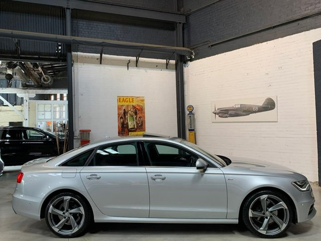 Used Audi A6 4G MY13 S Tronic Quattro, 2013 Audi A6 4G MY13 S Tronic Quattro Silver 7 Speed Sports Automatic Dual Clutch Sedan