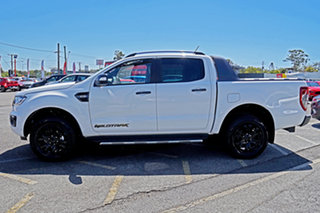 2019 Ford Ranger PX MkIII 2019.75MY Wildtrak Pick-up Double Cab White 6 Speed Sports Automatic