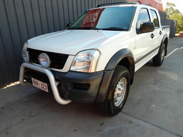 Used Holden Rodeo RA LX Crew Cab, 2003 Holden Rodeo RA LX Crew Cab White 5 Speed Manual Utility