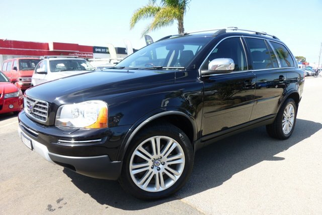 Used Volvo XC90 P28 MY09 LE, 2008 Volvo XC90 P28 MY09 LE Black 6 Speed Sports Automatic Wagon