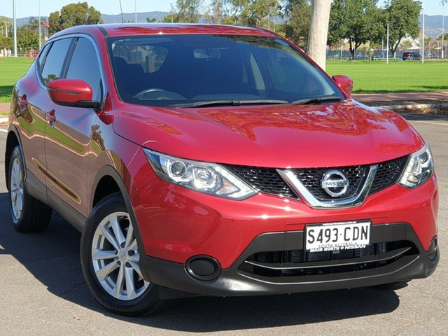 Used Nissan Qashqai J11 ST, 2016 Nissan Qashqai J11 ST Red/Black 1 Speed Constant Variable Wagon