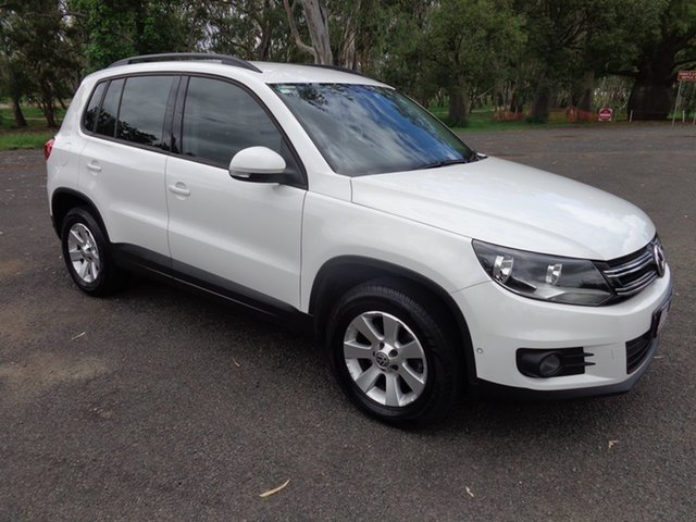 Used Volkswagen Tiguan 5NC MY14 103 TDI Pacific, 2013 Volkswagen Tiguan 5NC MY14 103 TDI Pacific White 7 Speed Auto Direct Shift Wagon