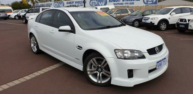 Used Holden Commodore VE II SV6, 2010 Holden Commodore VE II SV6 White 6 Speed Sports Automatic Sedan