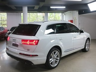 2016 Audi Q7 4M MY16 TDI Tiptronic Quattro White 8 Speed Sports Automatic Wagon