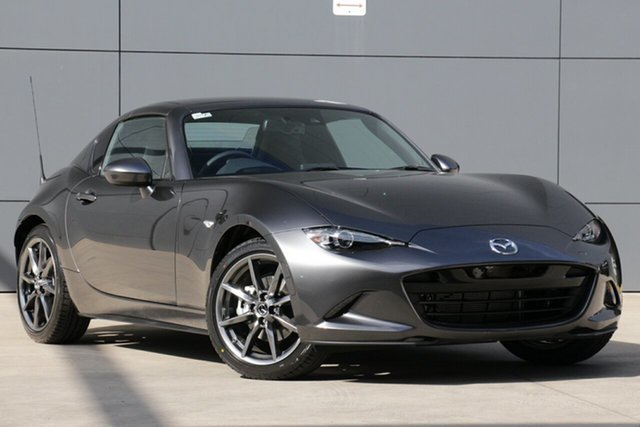 New Mazda MX-5 ND GT RF SKYACTIV-Drive Hillcrest, 2021 Mazda MX-5 ND GT RF SKYACTIV-Drive Machine Grey 6 Speed Sports Automatic Targa