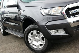 2016 Ford Ranger PX MkII XLT Double Cab Grey 6 Speed Manual Utility.