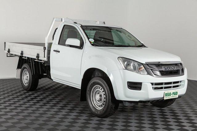Used Isuzu D-MAX MY15.5 SX 4x2 High Ride, 2016 Isuzu D-MAX MY15.5 SX 4x2 High Ride White 5 speed Automatic Cab Chassis
