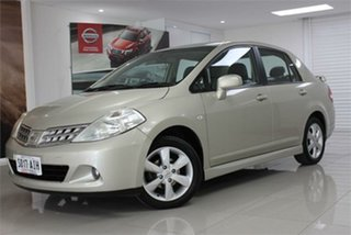2010 Nissan Tiida C11 TI Gold 4 Speed Automatic Sedan.