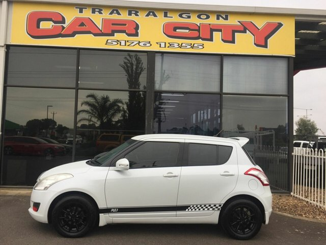 Used Suzuki Swift EZ 07 Update , 2011 Suzuki Swift EZ 07 Update White 5 Speed Manual Hatchback