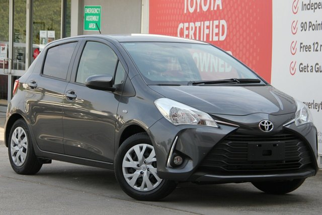 Used Toyota Yaris NCP131R SX, 2019 Toyota Yaris NCP131R SX Graphite 4 Speed Automatic Hatchback