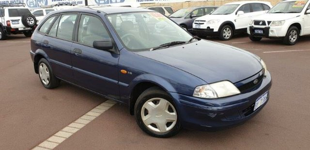 Used Ford Laser KN LXI, 2000 Ford Laser KN LXI Blue 4 Speed Automatic Hatchback