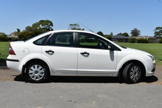 2007 Ford Focus LT CL White 4 Speed Sports Automatic Sedan