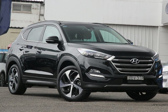 Used Hyundai Tucson TLE Highlander D-CT AWD, 2016 Hyundai Tucson TLE Highlander D-CT AWD Black 7 Speed Sports Automatic Dual Clutch Wagon