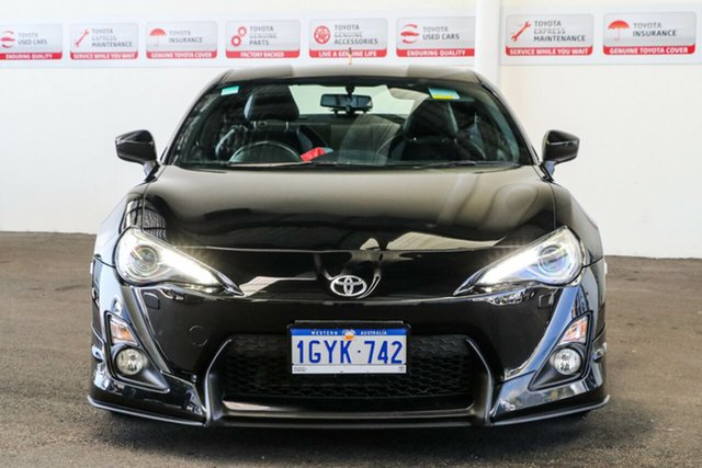 Used Toyota 86 ZN6 MY14 GTS, 2013 Toyota 86 ZN6 MY14 GTS Storm Black 6 Speed Manual Coupe
