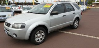 2008 Ford Territory SY TS Silver 4 Speed Sports Automatic Wagon