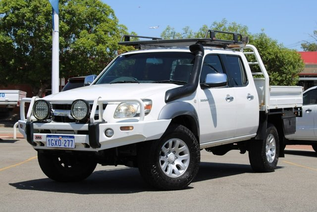 Used Mazda BT-50 UNY0E3 SDX, 2007 Mazda BT-50 UNY0E3 SDX White 5 Speed Manual Utility