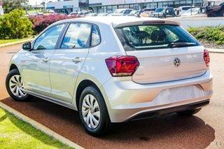 2019 Volkswagen Polo AW MY20 70TSI DSG Trendline Silver 7 Speed Sports Automatic Dual Clutch