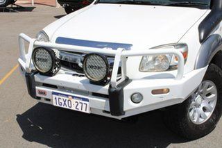 2007 Mazda BT-50 UNY0E3 SDX White 5 Speed Manual Utility