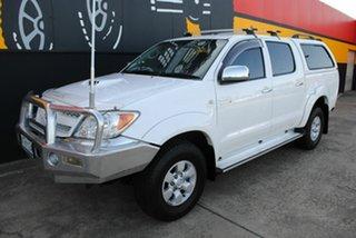 2008 Toyota Hilux KUN26R MY08 SR5 Super White 4 Speed Automatic Utility