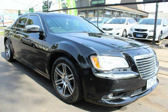 Used Chrysler 300 LX MY14 C E-Shift Luxury West Footscray, 2014 Chrysler 300 LX MY14 C E-Shift Luxury Black 8 Speed Sports Automatic Sedan