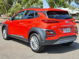 2019 Hyundai Kona OS.3 MY20 Elite 2WD Tangerine Comet 6 Speed Sports Automatic Wagon