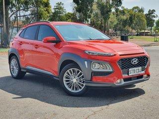 2019 Hyundai Kona OS.3 MY20 Elite 2WD Tangerine Comet 6 Speed Sports Automatic Wagon.