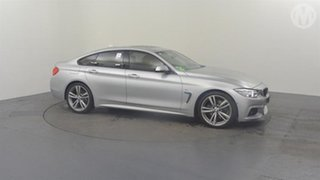 2016 BMW 428i F36 MY15 Gran Coupe Sport Line Silver 8 Speed Automatic Coupe
