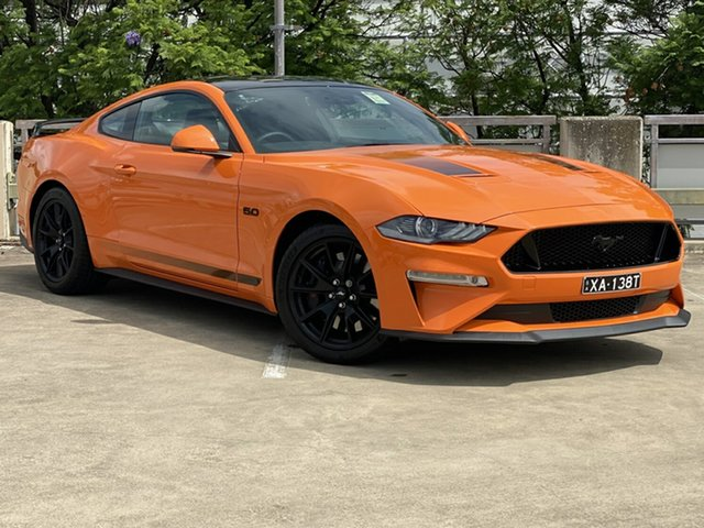 Demo Ford Mustang FN 2020MY GT Fastback RWD, 2019 Ford Mustang FN 2020MY GT Fastback RWD Twister Orange 6 Speed Manual Fastback