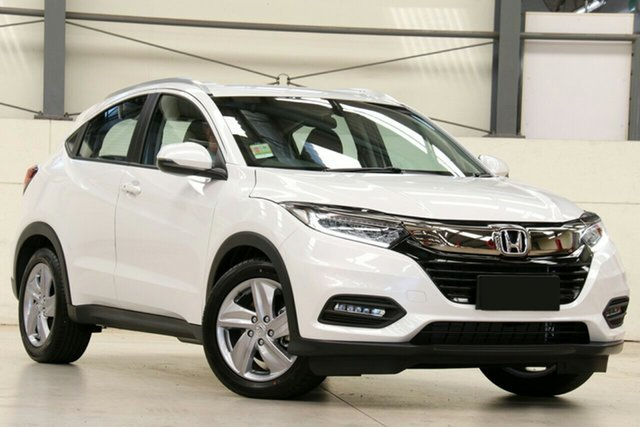New Honda HR-V MY20 VTi-S, 2019 Honda HR-V MY20 VTi-S Platinum White 1 Speed Constant Variable Hatchback