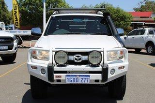 2007 Mazda BT-50 UNY0E3 SDX White 5 Speed Manual Utility.